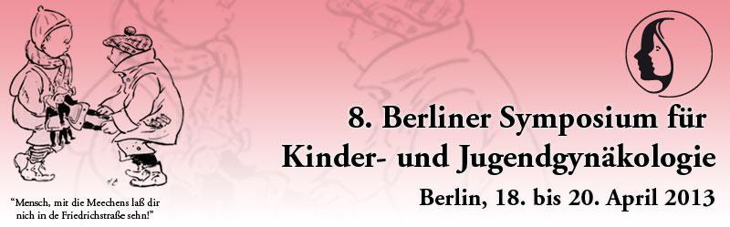 8. Berliner Symposium für Kinder- und Jugendgynäkologie